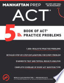 5 lb  Book of ACT Practice Problems