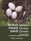 Build Green  Make Green  Save Green