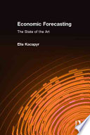 Economic Forecasting  : The State of the Art