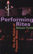 Performing Rites Pdf/ePub eBook