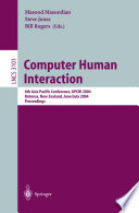 Computer Human Interaction