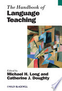 """The Handbook of Language Teaching"" by Michael H. Long, Catherine J. Doughty"