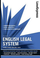 Cover of English Legal System