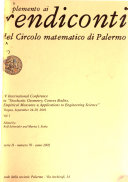 Supplemento Ai Rendiconti Del Circolo Matematico Di Palermo