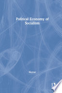 Political Economy of Socialism