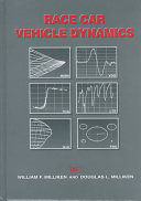 Race Car Vehicle Dynamics Book
