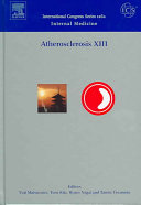 Atherosclerosis XIII Book