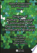 Origins of Human Language