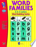 Word Families 2 & 3 Letter Words Gr. 1-3