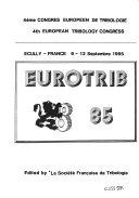 Eurotrib 85 Book PDF