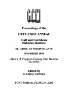 Proceedings of the     Annual Gulf and Caribbean Fisheries Institute