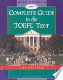 Heinle & Heinle's Complete Guide to the TOEFL Test, CBT Ed