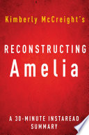 Reconstructing Amelia by Kimberly McCreight   A 30 minute Summary