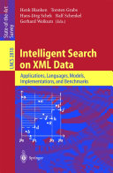 Intelligent Search on XML Data