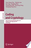 Coding and Cryptology