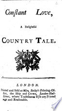 Constant love  a delightful country tale Book