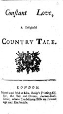 Constant love  a delightful country tale