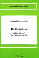 The Gentlest Law