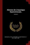 Histoire de L'Amerique Septentrionale..;