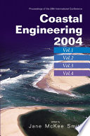 Coastal Engineering 2004   Proceedings Of The 29th International Conference  In 4 Vols