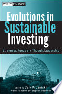 Evolutions In Sustainable Investing