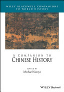 A Companion to Chinese History [Pdf/ePub] eBook