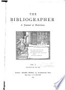 The Bibliographer