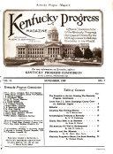 Kentucky Progress Magazine