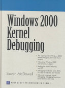 Windows 2000 Kernel Debugging
