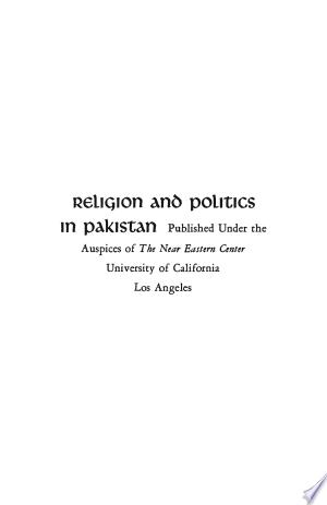 Download Religion and Politics in Pakistan PDF