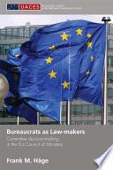 Bureaucrats As Law Makers