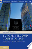 Europe s Second Constitution