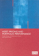 Asset Pricing and Portfolio Performance