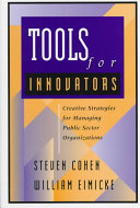 Tools for Innovators Book