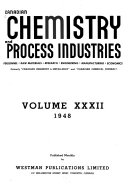 Canadian Chemistry and Process Industries Book