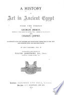A History of Art in Ancient Egypt Book PDF