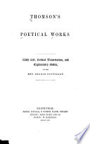 Thomson s Poetical Works