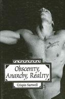 Obscenity, Anarchy, Reality ebook