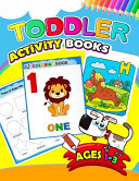 Toddler Activity Books Ages 1-3