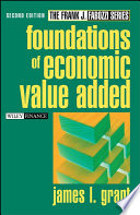 Foundations of Economic Value Added Book