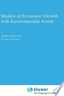 Models of Economic Growth with Environmental Assets