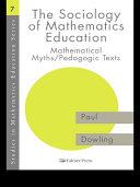 The Sociology of Mathematics Education