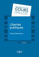 Pdf Libertés publiques - 9e ed. Telecharger