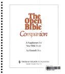 Open Bible Companion Handbook