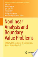 Nonlinear Analysis and Boundary Value Problems