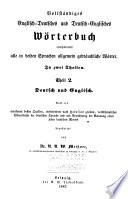 Vollständiges englisch-deutsches und deutch-englisches Wörterbuch
