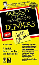 Pdf Microsoft? Office for Windows? For Dummies?
