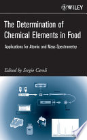 The Determination of Chemical Elements in Food Book