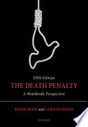 The death penalty a worldwide perspective