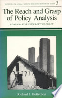 The Reach And Grasp Of Policy Analysis